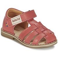 Shoes Girl Sandals Kavat FORSVIK Coral