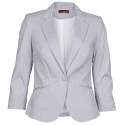 Clothing Women Jackets / Blazers La City VST1D6 Blue