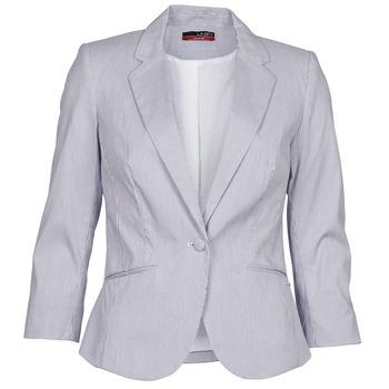 Clothing Women Jackets / Blazers La City VST1D6 Grey
