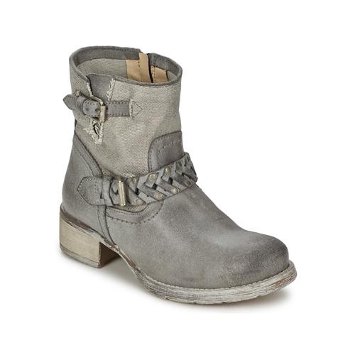 Shoes Women Mid boots Café Noir Boogry Grey