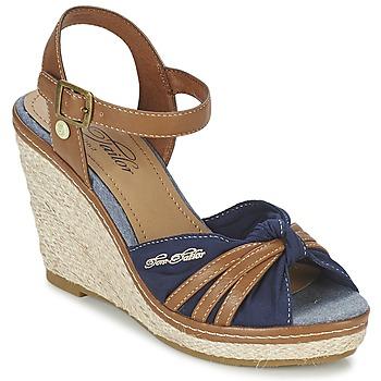 Shoes Women Sandals Tom Tailor BASTIOL MARINE