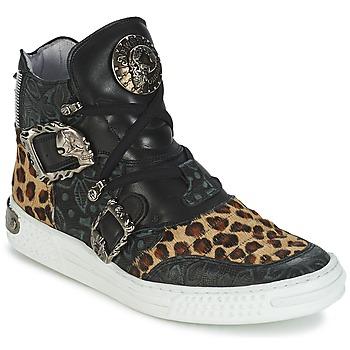 Shoes Women Hi top trainers New Rock ANTERLO Leopard