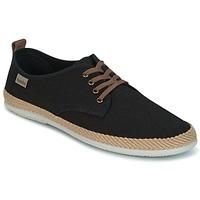 Shoes Men Low top trainers Victoria BLUCHER LINO DETALLE SERRAJE Black