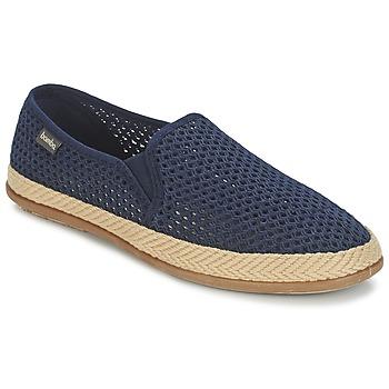 Shoes Men Espadrilles Bamba By Victoria COPETE ELASTICO REJILLA TRENZA Marine