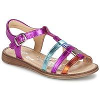 Shoes Girl Sandals Babybotte KIRI2 Multicoloured