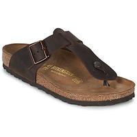 Shoes Men Flip flops Birkenstock MEDINA PREMIUM Brown