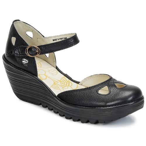 Shoes Women Heels Fly London YUNA Black
