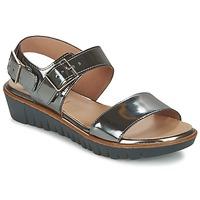 Shoes Women Sandals Wonders LAMETOP Grey / Silver