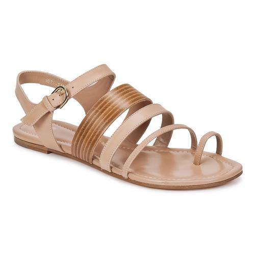 Shoes Women Sandals Boss Business PERNILLE Beige