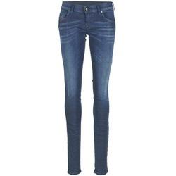 Clothing Women slim jeans Diesel GRUPEE Blue / 0837j