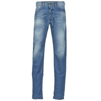 Clothing Men straight jeans Diesel BUSTER Blue