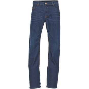 Clothing Men straight jeans Diesel WAYKEE Blue / Dark
