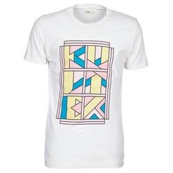 Clothing Men short-sleeved t-shirts Kulte ANATOLE BLOCK White