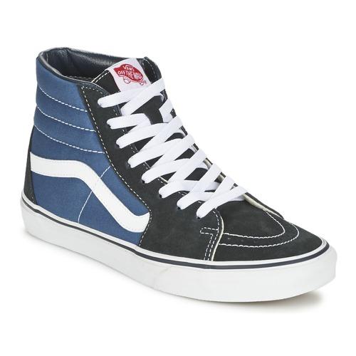 Shoes Hi top trainers Vans SK8-HI Marine / Black
