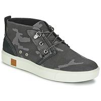 Shoes Men Hi top trainers Timberland AMHERST CHUKKA Black