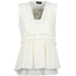 Clothing Women Tops / Sleeveless T-shirts Kookaï VACHOVA White
