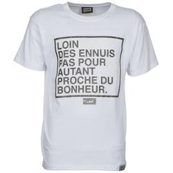 Clothing Men short-sleeved t-shirts Wati B LOIN White