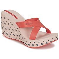 Shoes Women Mules Ipanema LIPSTICK STRAPS II Red / Pink