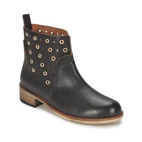 Shoes Women Mid boots BOSS 50266292 Black