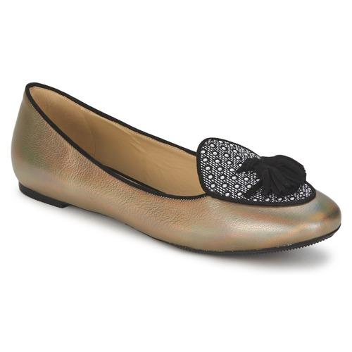 Shoes Women Flat shoes Etro 3922 Gold