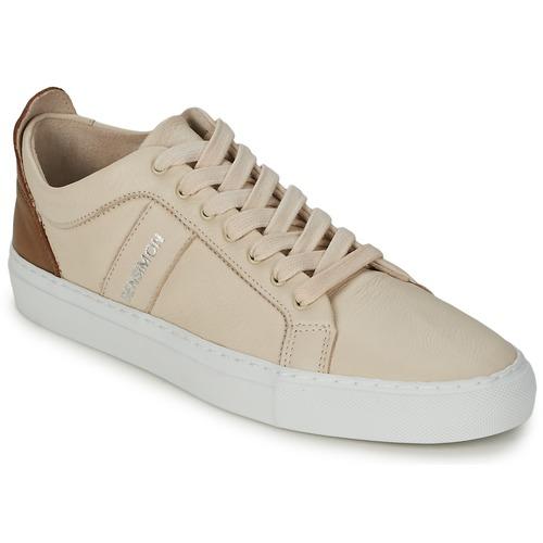 Shoes Women Low top trainers Bensimon BICOLOR FLEXYS Beige