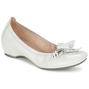 Shoes Women Flat shoes Hispanitas VALENCE White