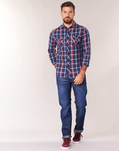 Clothing Men Straight jeans G-Star Raw 3301 STRAIGHT Hydrite / Denim / Dk / Aged