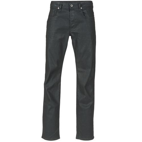 Clothing Men Straight jeans G-Star Raw 3301 STRAIGHT Black