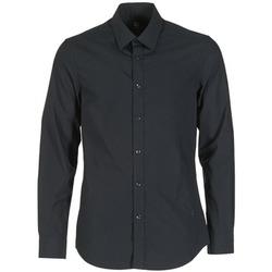 Clothing Men long-sleeved shirts G-Star Raw CORE Black