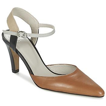 Shoes Women Sandals Perlato ANTELLA COGNAC