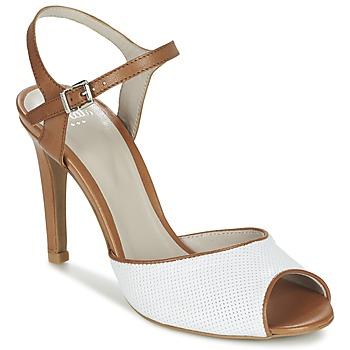 Shoes Women Sandals Perlato PINEDA White