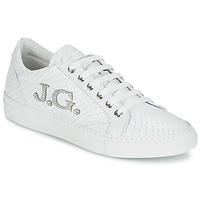 Shoes Women Low top trainers John Galliano 7977 White