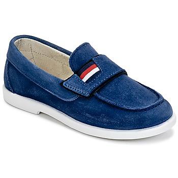 Shoes Boy Loafers Citrouille et Compagnie LILMOUSSE Blue / MARINE