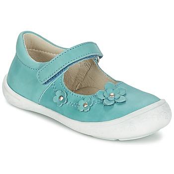 Shoes Girl Flat shoes Citrouille et Compagnie MELINA BIS Blue