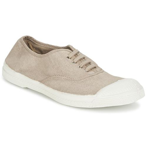 Shoes Women Low top trainers Bensimon TENNIS LACET Dark / Beige