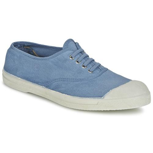 Shoes Women Low top trainers Bensimon TENNIS LACET Blue
