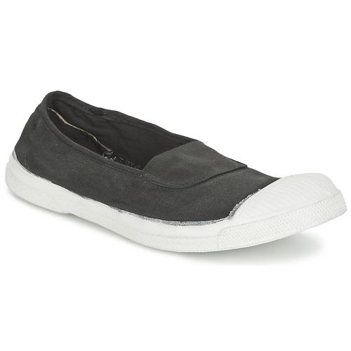 Shoes Women Low top trainers Bensimon TENNIS ELASTIQUE Carbon