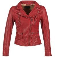 Clothing Women Leather jackets / Imitation leather Oakwood 60861 Red