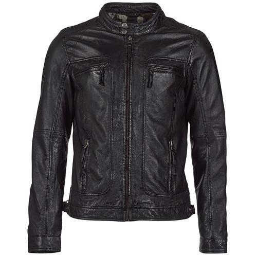 Clothing Women Leather jackets / Imitation leather Oakwood CASEY Black