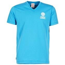 Clothing Men short-sleeved t-shirts Franklin & Marshall DOBSON Blue