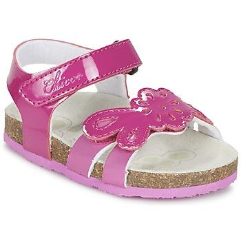 Shoes Girl Sandals Chicco HAMALIA Pink