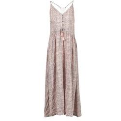 Clothing Women Long Dresses Rip Curl SNAKE Pink