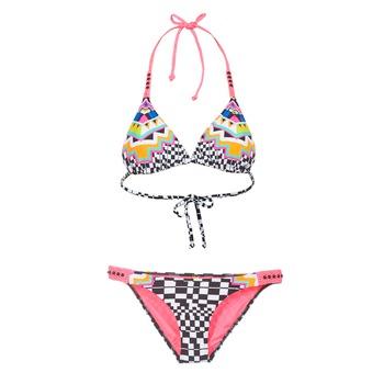 Clothing Women Bikinis Rip Curl CANCUN TRISET Multicoloured
