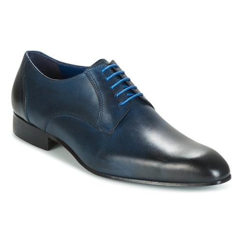 Shoes Men Derby Shoes Carlington EMRONE Marine