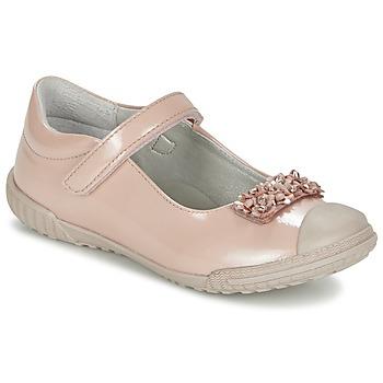 Shoes Girl Flat shoes Mod'8 KOM Pink / Powder