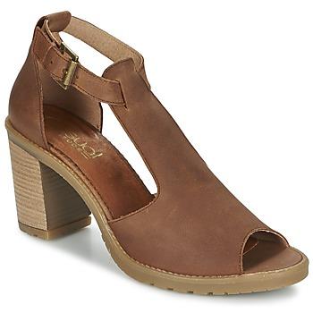 Shoes Women Sandals Casual Attitude GUIGNET CAMEL