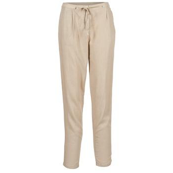 Clothing Women Wide leg / Harem trousers Best Mountain DOUNE Beige