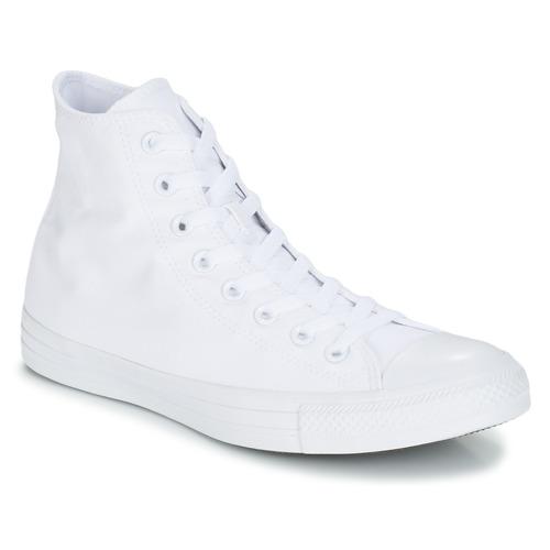 Shoes Hi top trainers Converse ALL STAR MONOCHROME HI White