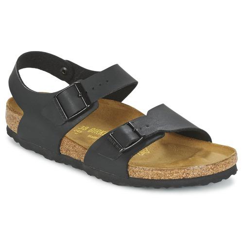 Shoes Boy Sandals Birkenstock NEW YORK Black