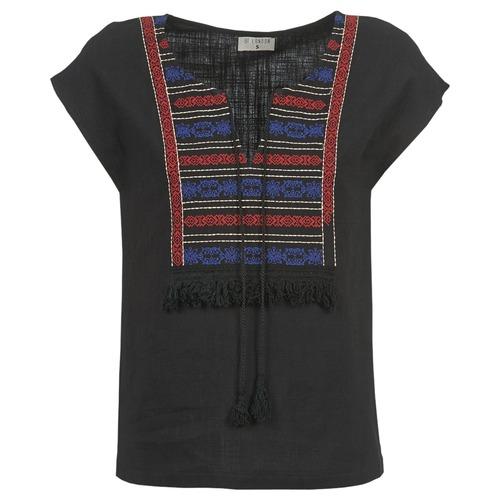 Clothing Women Tops / Blouses Betty London ETROBOLE Black